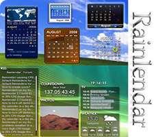 تقویم پیشرفته ثبت و مدیریت مناسبت و وظایف، Rainlendar Pro 2.12.1
