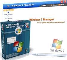مدیریت حرفه ای ویندوز 7، Windows 7 Manager 4.4.7 Final