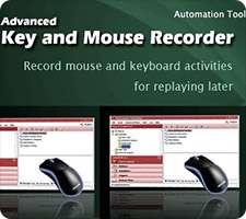 انجام خودکار کارها با ضبط حرکات موس و کیبرد، Advanced Key and Mouse Recorder 3.4.1