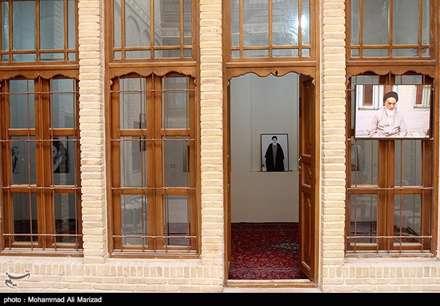 منزل امام خمینی(ره) در شهر نجف-عراق