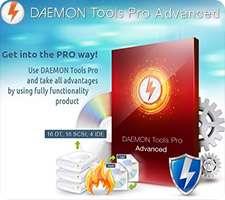 ایجاد درایو مجازی قدرتمند+نسخه رایگان، DAEMON Tools Pro Advanced 5.4.0.0377