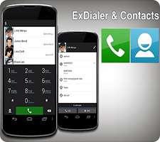دانلود ExDialer PRO Dialer & Contacts 184 شماره گیر و مخاطبین هوشمند اندروید