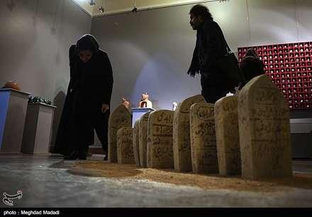 افتتاح ششمین جشنواره هنرهای تجسمی فجر