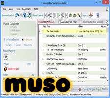 مدیریت و اجرای فایل های صوتی، Muso 1.5.53