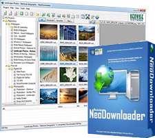 ذخیره کامل اطلاعات وب سایت، NeoDownloader 2.9.5 Build 191