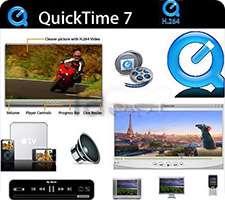 پلیر قدرتمند فایل های چندرسانه ای، QuickTime Pro 7.7.5