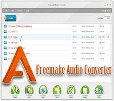 مبدل فایل های صوتی به یکدیگر، Freemake Audio Converter 1.1.0.54