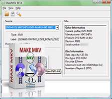 تبدیل فایل های ویدیویی به فرمت ام کی وی، MakeMKV 1.8.9