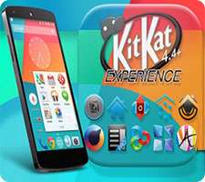 لانچر زیبای KitKat 4.4 Launcher Theme 2.31