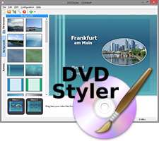 ایجاد و ساخت سریع دی وی دی، DVDStyler 2.8 Final