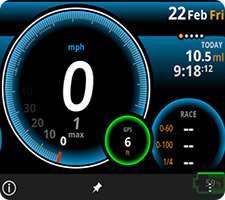 سرعت سنج حرفه ای در اندروید، Ulysse Speedometer Pro 1.9.6