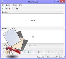دانلود Mnemosyne 2.3.2 فلش کارت برای یادگیری و حفظ مطالب
