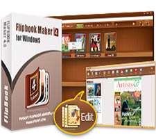 ساخت انواع کتاب، مجله و بروشور متحرک، Kvisoft FlipBook Maker PRO 4.0.0
