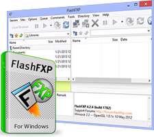 مدیریت و انتقال اطلاعات بین رایانه و سرور+پرتابل، FlashFXP 5.0.0 build 3781 Final