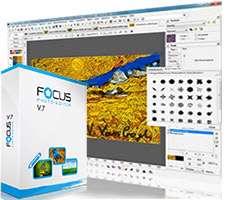 ویرایش و رتوش حرفه ای تصاویر + پرتابل، Focus Photoeditor 7.0.3.0