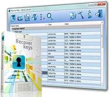 نمایش سریال نرم افزار + پرتابل، Recover Keys 8.0.3.110