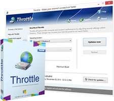 بهینه ساز و افزایش سرعت اینترنت، PGWARE Throttle 7.6.2.2014