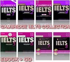 دانلود مجموعه کامل آیلتس کمبریج، Cambridge IELTS 1-8