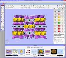 شبیه سازی ساختار ملکولی شیمی، CrystalMaker 9.0.1