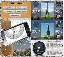 مجموعه ابزارهای اندازه گیری در اندروید، Smart Tools 1.7