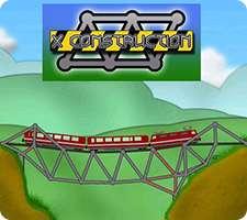 بازی فکری و سرگرم کننده پل سازی، X Construction 1.54