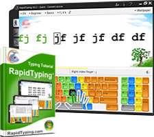 آموزش و تمرین تایپ سریع + پرتابل، RapidTyping 4.6.6