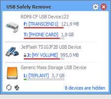 جداسازی امن پورت USB + پرتابل، USB Safely Remove 5.2.4.1215 Final