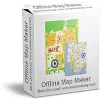 ذخیره آفلاین نقشه های گوگل، Offline Map Maker 5.07