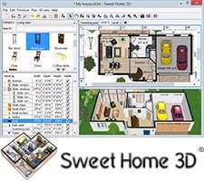 طراحی دکوراسیون منزل به صورت 3 بعدی، Sweet Home 3D 4.4
