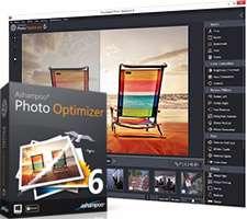 ویرایشگر قدرتمند تصاویر، Ashampoo Photo Optimizer 6.0.12 Final