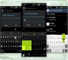 صفحه کلید حرفه ای اندروید با پشتیبانی از زبان فارسی، Kii Keyboard Premium 1.2.23r2