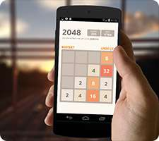 بازی فکری و فوق العاده زیبای 2048 در اندروید، 2048Number puzzle game 6.48