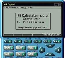 ماشین حساب علمی و حرفه ای، PG Calculator 2.2.9
