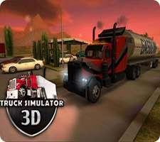 بازی زیبای کامیون سواری در اندروید، Truck Simulator 3D 1.9.4