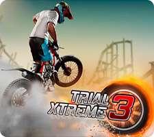 بازی مهیج موتور سواری با گرافیک عالی در اندروید، Trial Xtreme 3 v6.7