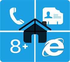 دانلود Home8+ like Windows 8 Launcher 3.5.1 لانچر ویندوز 8 در اندروید