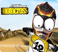 دانلود بازی Stickman Downhill - Motocross 1.9 Full بازی مهیج موتور سواری