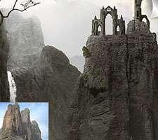 طراحی تصویر کوهستانی مات و تیره در فتوشاپ - قسمت اول
