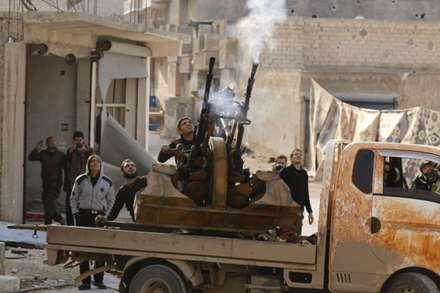 ضد هوایی تروریستهای سوریه