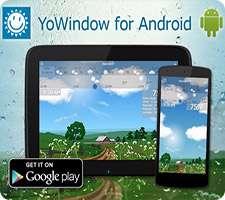 دانلود YoWindow Weather 1.4.4 پیش بینی آب و هوا در اندروید