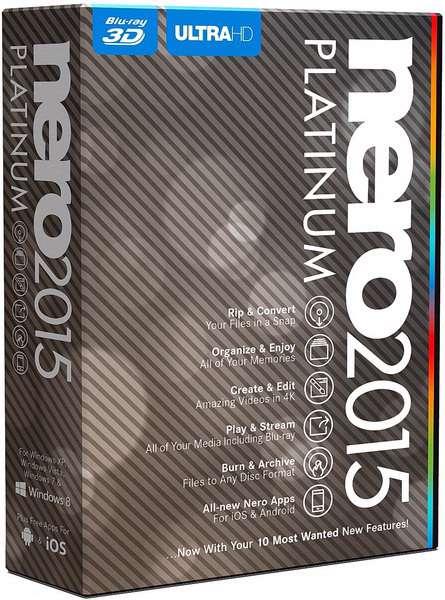 دانلود مجموعه ابزارهای Nero 2015 Platinum 16.0.05000 Final , Nero