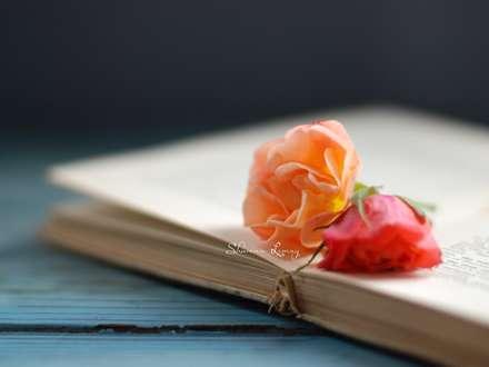 کتاب، گل