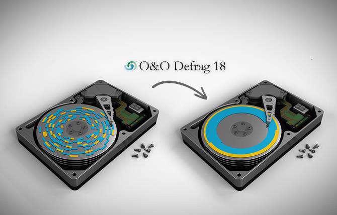 یکپارچه سازی قدرتمند هارددیسک،  O&O Defrag Professional 18.9.60 + پرتابل