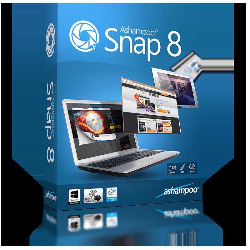 تصویربرداری از محیط ویندوز با Ashampoo Snap v 8.0.4+پرتابل