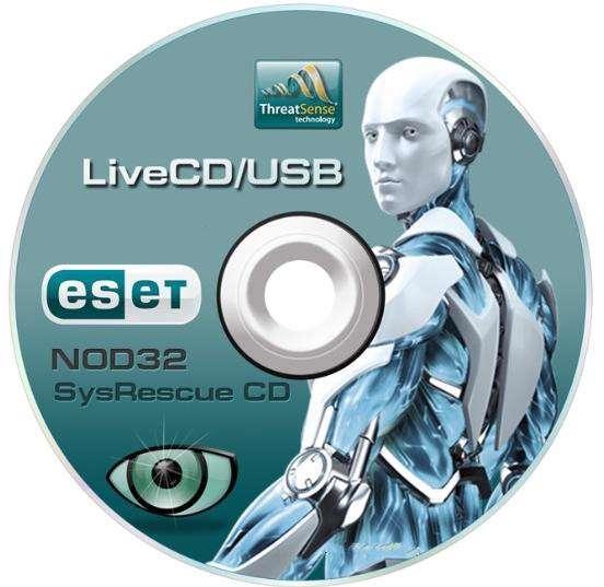 دانلود دیسک نجات آنتی ویروس نود ESET SysRescue CD  32