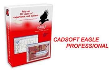 نرم افزار طراحی مدارهای الکترونیکی CadSoft Eagle Professional