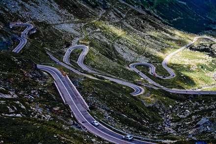 جاده ، کوهستان،