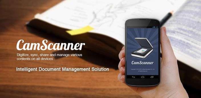 دانلود برنامه ثبت عکس به صورت فایل های CamScanner Phone PDF Creator 4.0.1.20160620  PDF