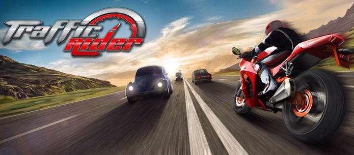 دانلود بازی جدید و جذاب Traffic Rider 1.0 برای آندروید