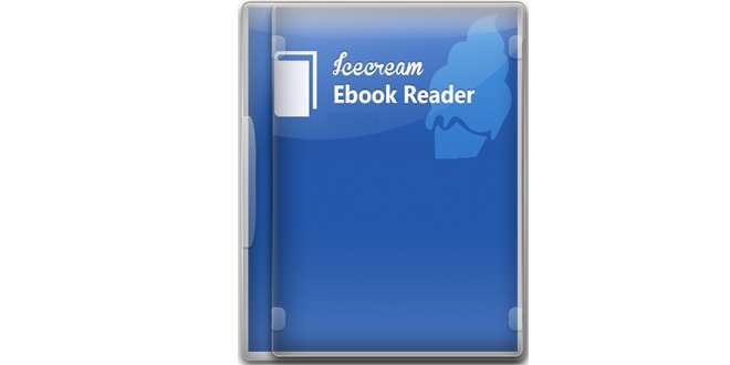 دانلود کتابخوان حرفه ای Icecream Ebook Reader 2.71 برای pc